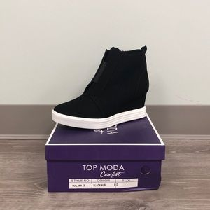 New with Box Wedge Sneakers